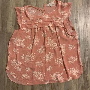 LOFT floral blouse